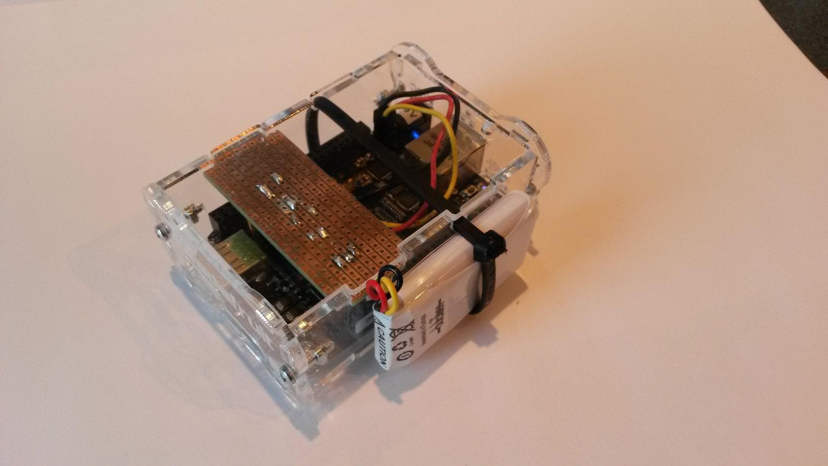 Uninterruptible Power Supply Ups For Beaglebone Black A Diy Battery Backup Wiring Diagram On Side