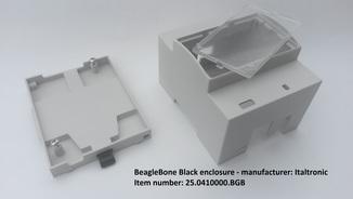 DIN rail enclosure for BeagleBone Black