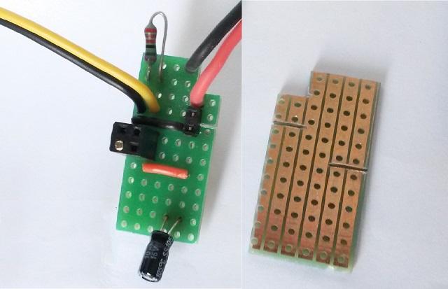 Micro BeagleBone Black UPS - PCB details